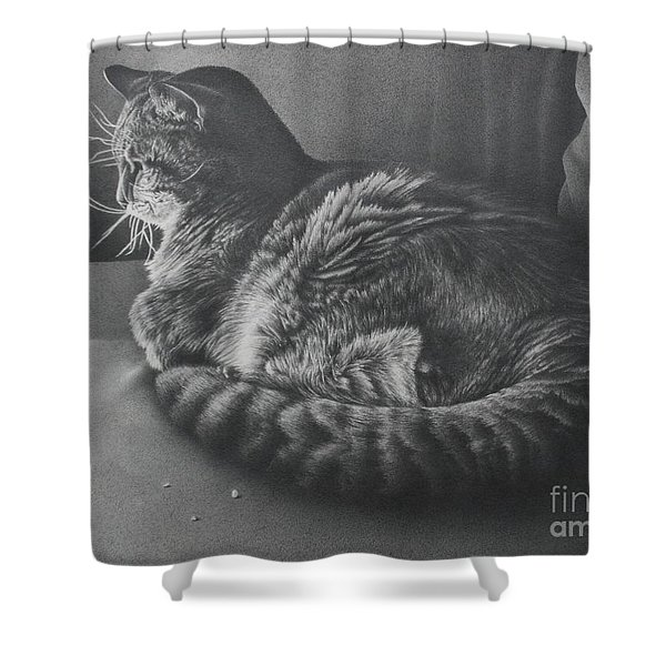 Contentment Shower Curtain