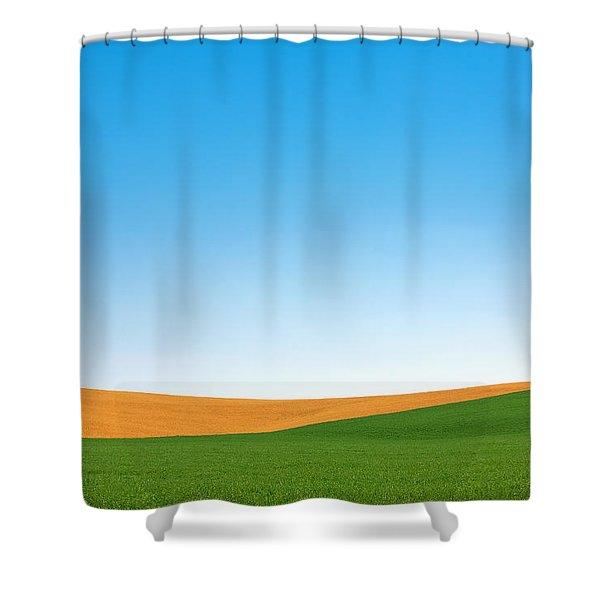 Contours Shower Curtain