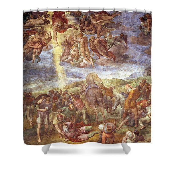 Conversion Of St. Paul Fresco Shower Curtain
