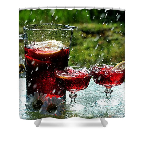 Cool Off Shower Curtain