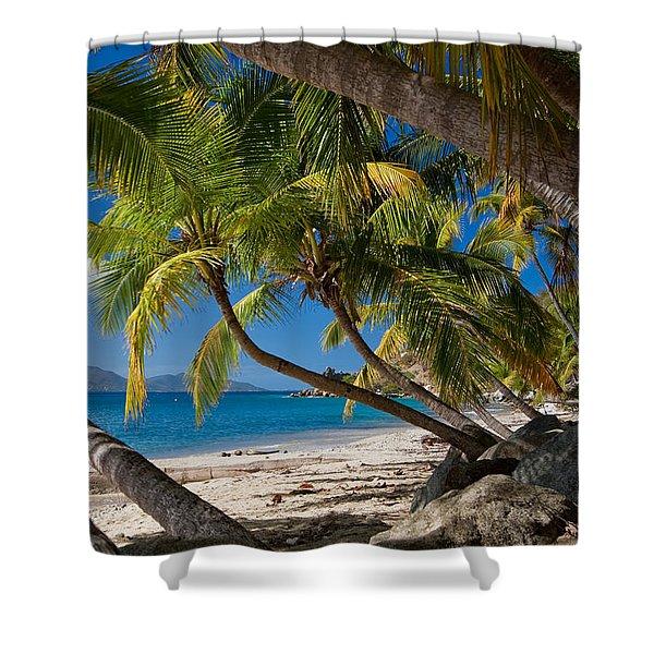 Cooper Island Shower Curtain
