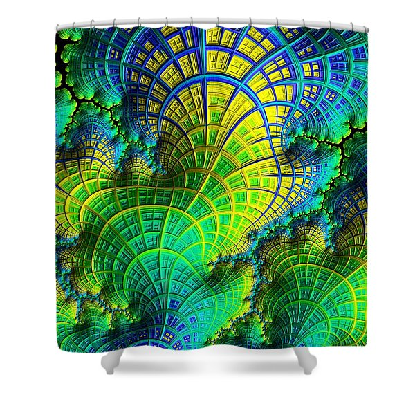 Coral Electric Shower Curtain