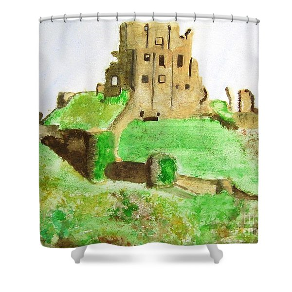 Corfe Castle Shower Curtain