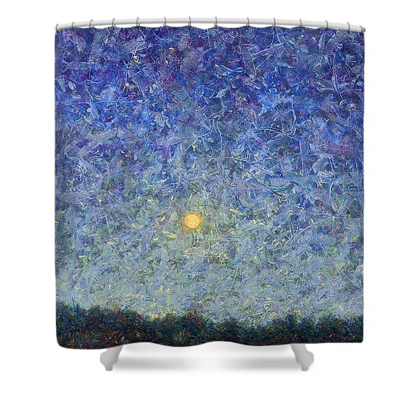 Cornbread Moon Shower Curtain