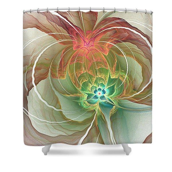 Corsage Shower Curtain