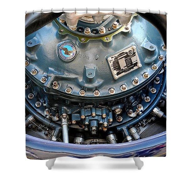 Corsair R2800 Radial Shower Curtain
