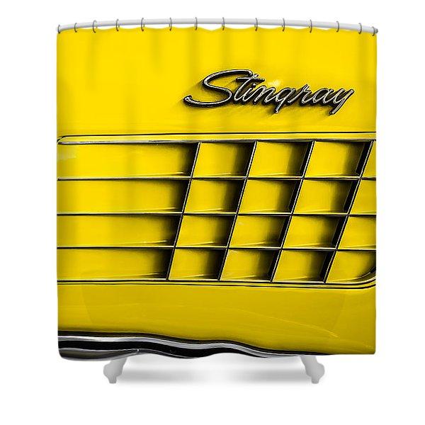 Corvette Gills Shower Curtain