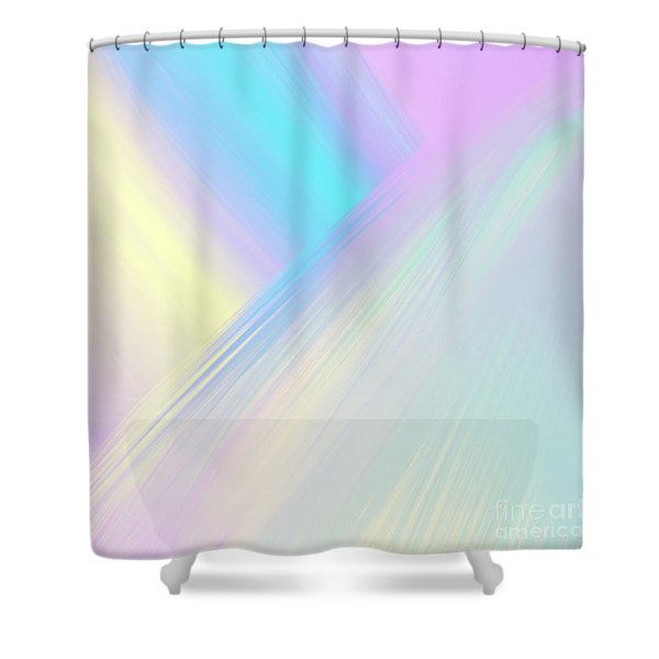 Cosmic Light Shower Curtain