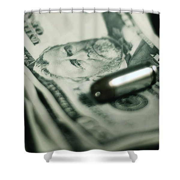 Cost Of One Bullet Shower Curtain