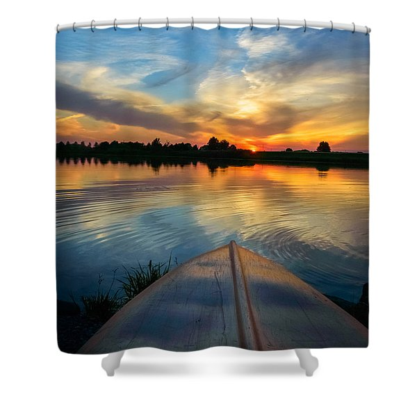 Cottage Country's Silhouette Shower Curtain