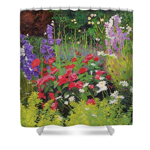 Cottage Garden Shower Curtain