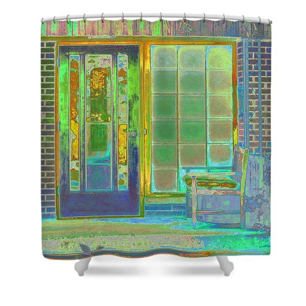 Cottage Porch Shower Curtain
