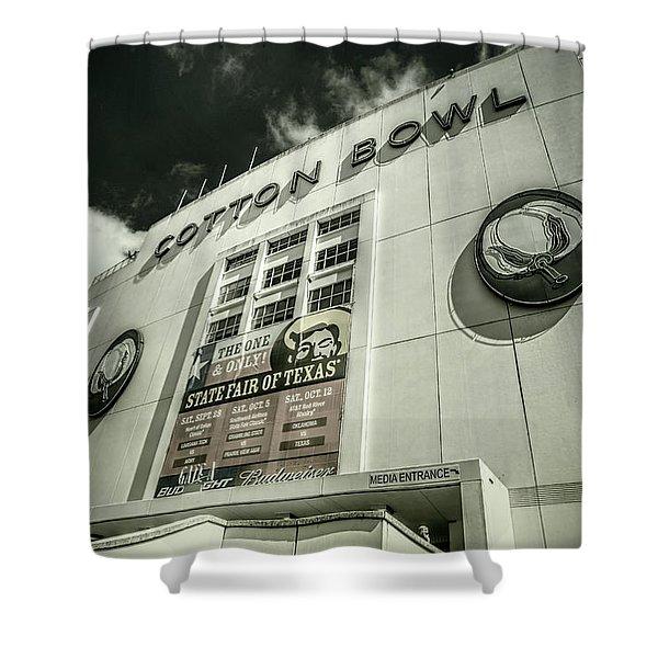 Cotton Bowl Shower Curtain