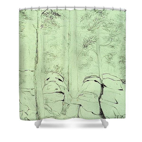 Council Of The Elders Shower Curtain