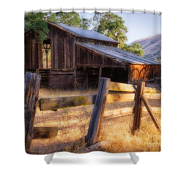 Country In The Foothills Shower Curtain