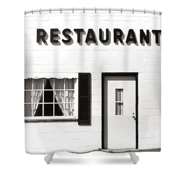 Country Restaurant Shower Curtain