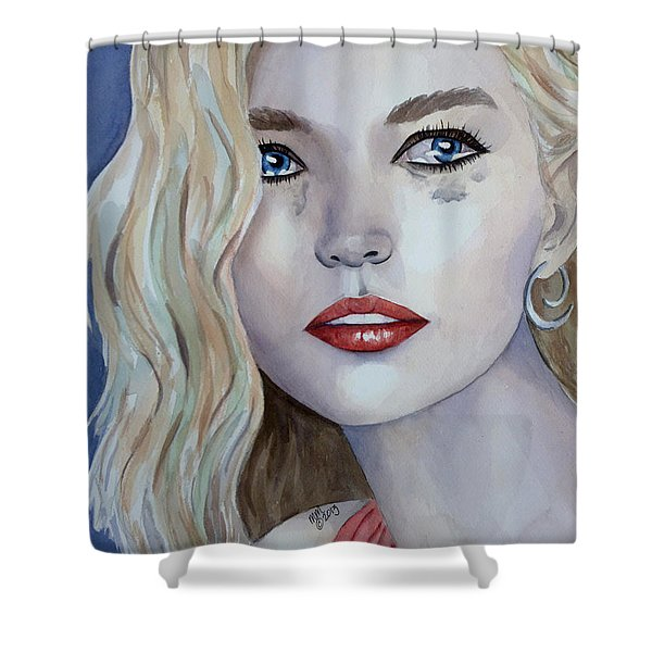 Courage To Cry Shower Curtain