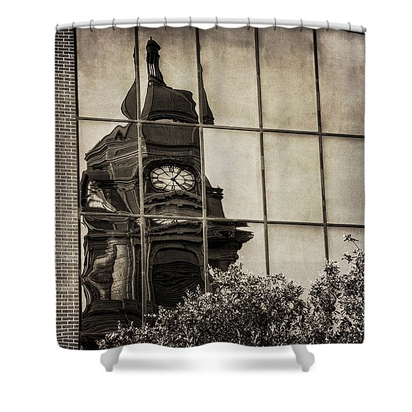 Courthouse Reflections Shower Curtain
