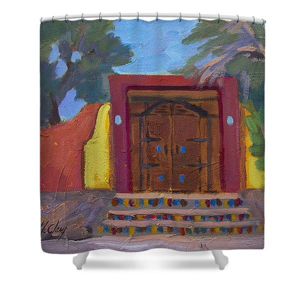 Cove Doorway 2 Shower Curtain