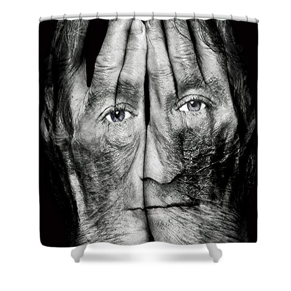 Cover Thy Faces Shower Curtain