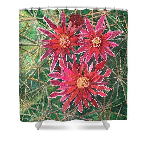 Coville Barrel Blossoms Shower Curtain