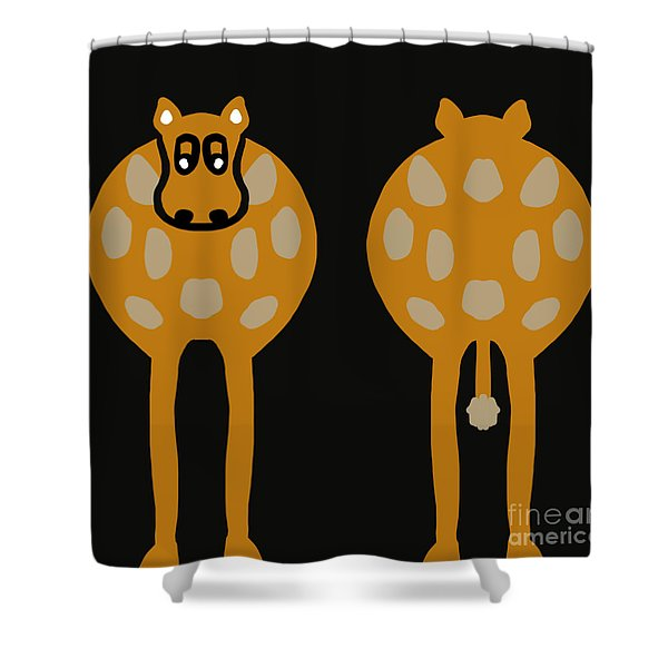 Cow - Both Ends Shower Curtain