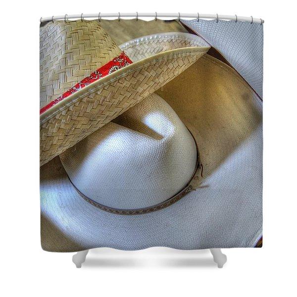 Cowboy Hats Shower Curtain