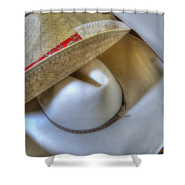 Cowboy Hats Shower Curtain