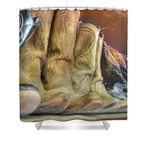 Cowboy Soul Shower Curtain