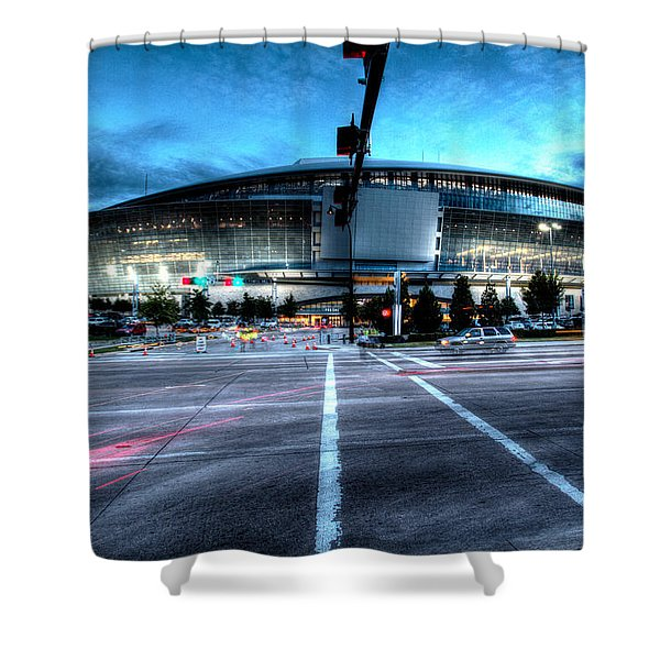 Cowboys Stadium Pregame Shower Curtain