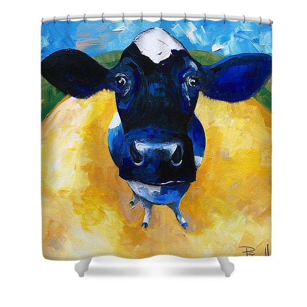 Cowtale Shower Curtain
