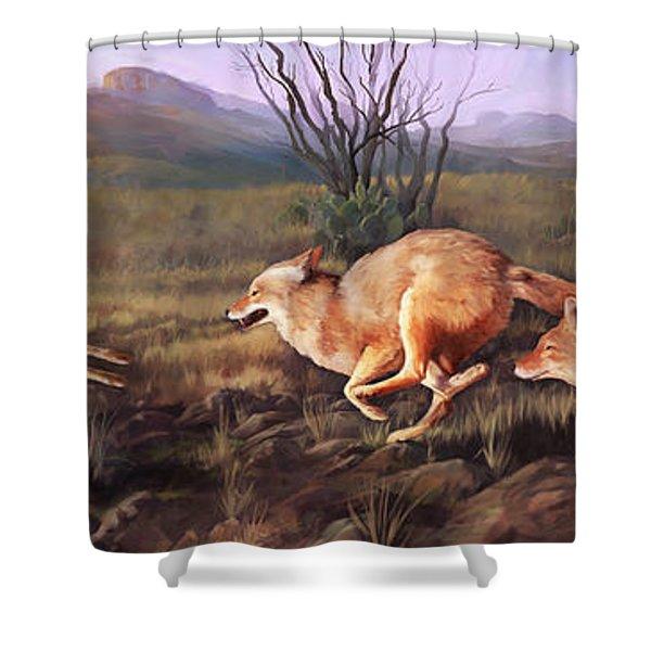 Coyote Run Shower Curtain