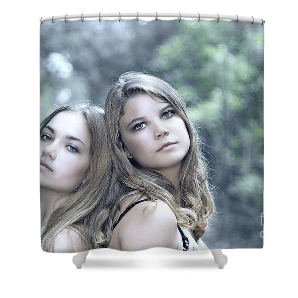 Create Your Destiny Shower Curtain