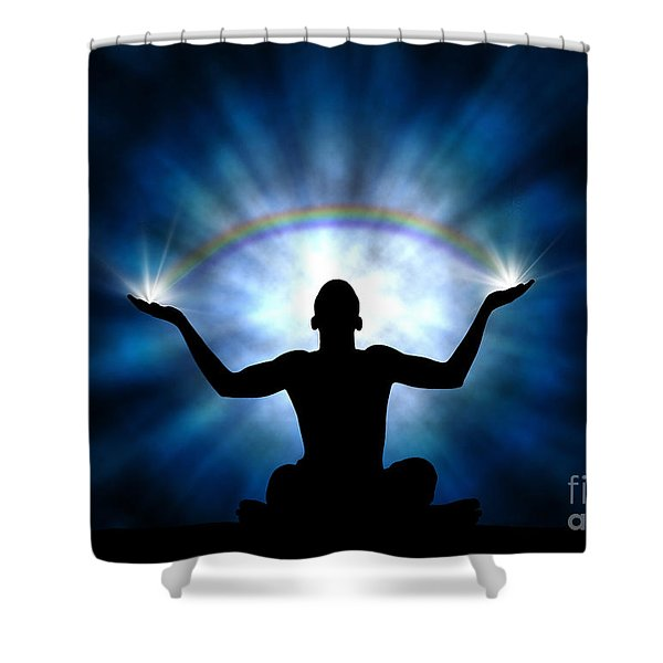 Creating The Rainbow Shower Curtain