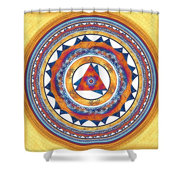 Creative Energy Shower Curtain