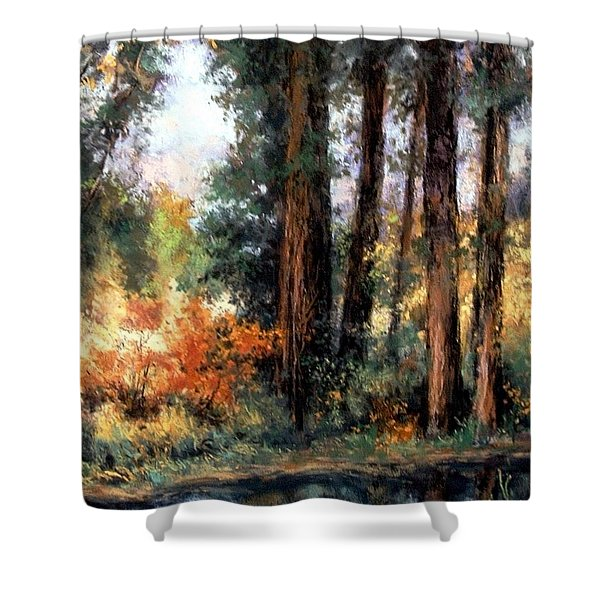 Creekside No 2 Shower Curtain