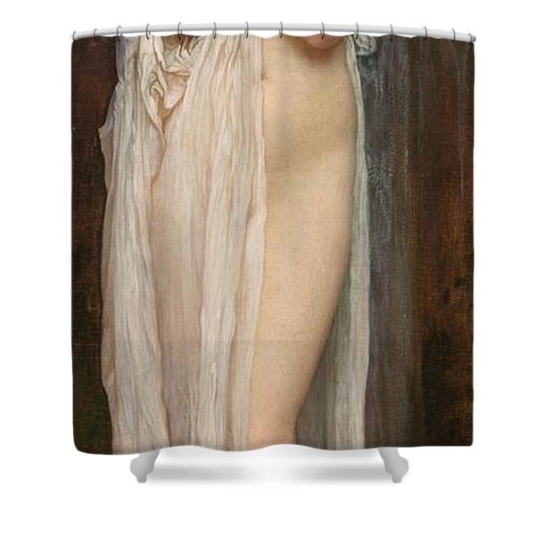 Crenaia The Nymph Of The Dargle Shower Curtain