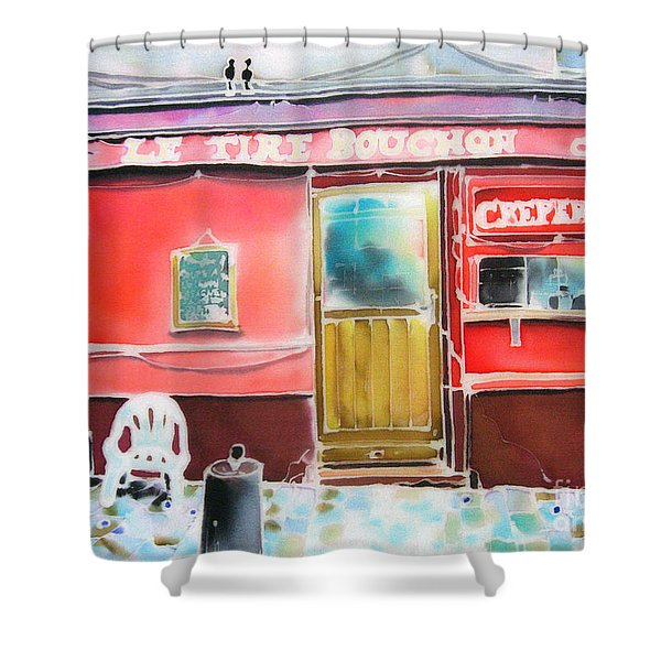 Creperie Shower Curtain