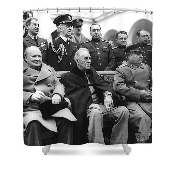 Crimean Conference In Yalta Shower Curtain