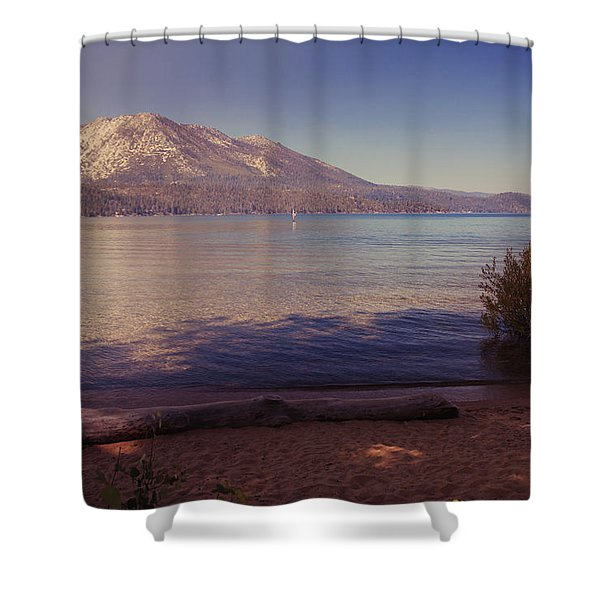 Crisp And Clear Shower Curtain