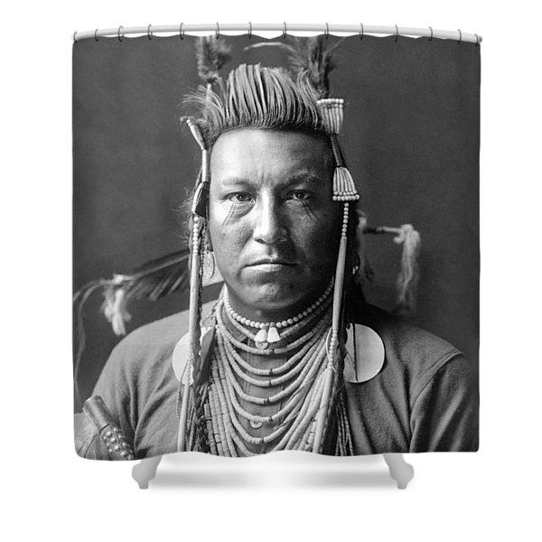 Crow Indian Circa 1908 Shower Curtain