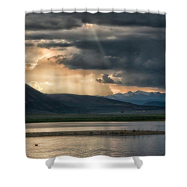 Crowley Lake Shower Curtain