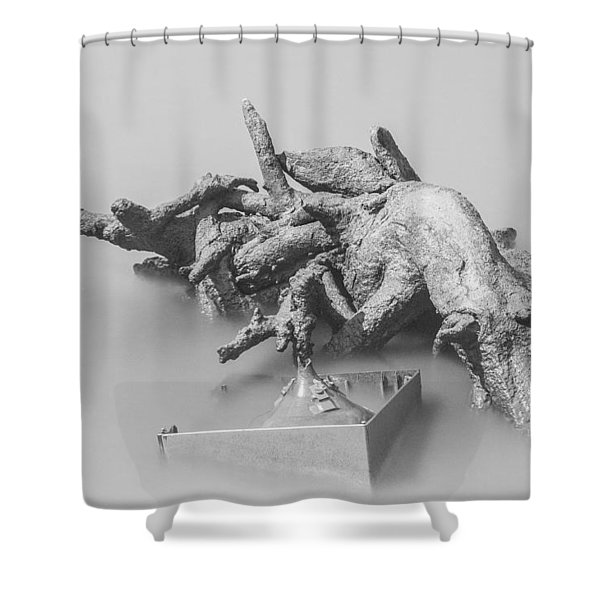 Crt Are Dead Shower Curtain
