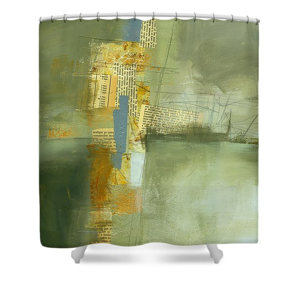 Cruciform Study Neutral Shower Curtain