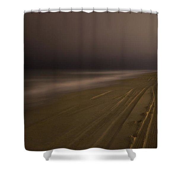 Crystal Coast Evening Shower Curtain