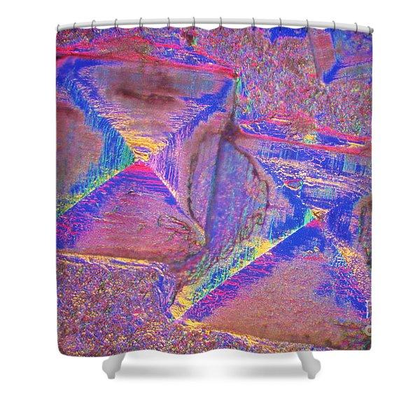 Crystal Salt Shower Curtain