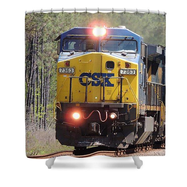 Csx 7363 Shower Curtain