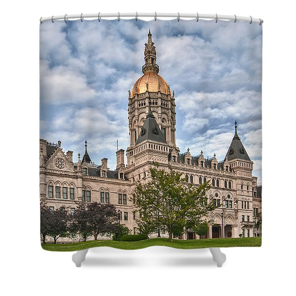 Ct State Capitol Building Shower Curtain