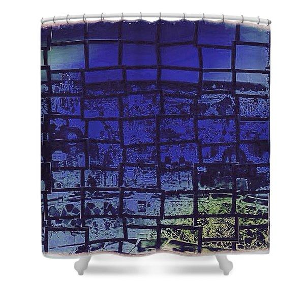 Cubik Shower Curtain