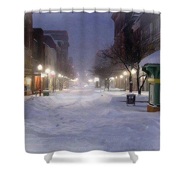 Cumberland Winter Shower Curtain